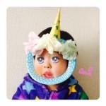 2014年の手作りお面(3歳)