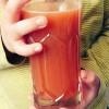 りんご×にんじんジュース