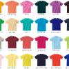 カラーは36種類(定番Tシャツ)
