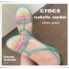 夏の足元コーデにピッタリ!クロックス2016新作【crocs isabella sandal w】
